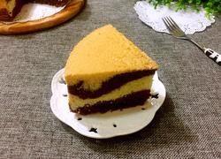 双色戚风蛋糕(八寸)