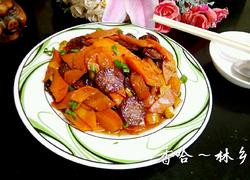 香肠炒胡萝卜