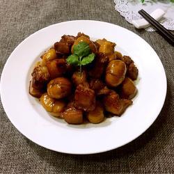 板栗红烧肉的做法[图]