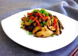 小炒香菇榨菜