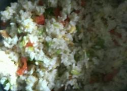 彩色大米饭