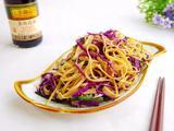 紫甘蓝拌豆腐皮的做法[图]