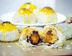 麻薯蛋黄酥[图]