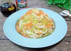 凉拌彩蔬金针菇
