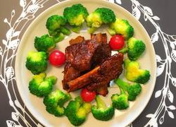 年夜饭之4-色味兼具无油健康的12345排骨