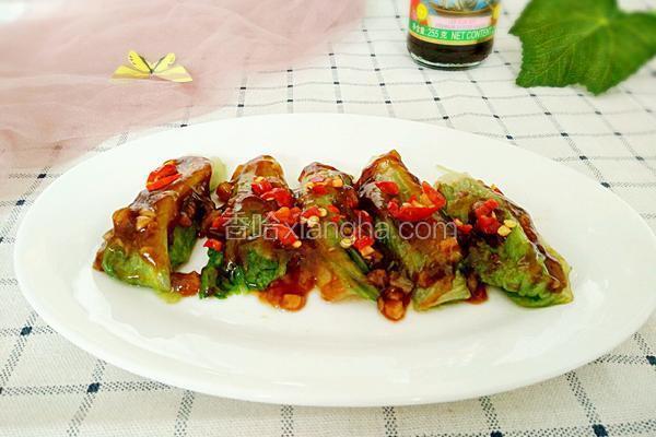 蚝油生菜卷