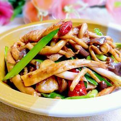 干锅茶树菇(无盐版)