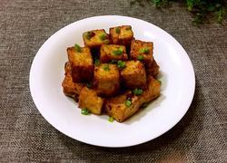 黄豆酱焖煮豆腐