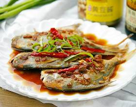 黄豆酱蒸鲳鱼[图]