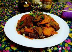 红萝卜炒牛肉