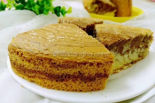 双色蛋糕(全蛋打发)