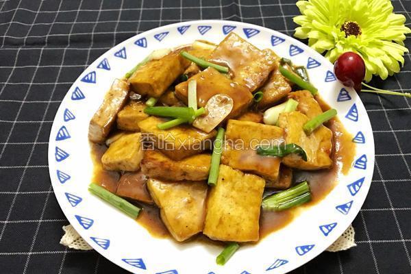 辣黄豆酱炒豆腐