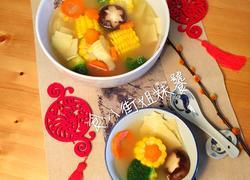 年夜饭之5-时蔬排骨汤