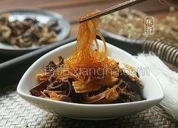 木耳黄花菜拌粉丝