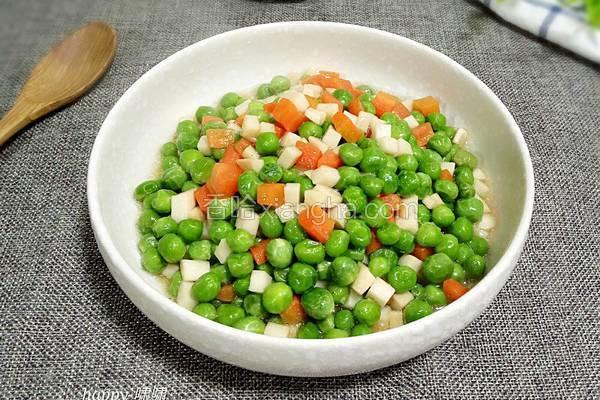 蚝油什锦蔬菜丁