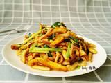 香干炒肉丝的做法[图]