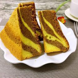 大理石纹戚风蛋糕