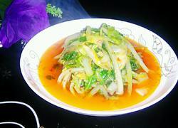 蒜蓉辣椒酱炒白菜