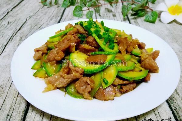 云南小瓜炒肉