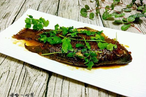 黄豆酱焖罗非鱼