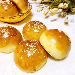 自制汉堡面包胚