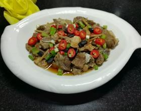 豉油豆豉蒸排骨