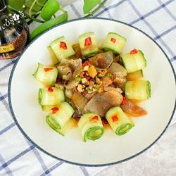 虎斑海蜇拌黄瓜