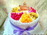 八寸水果奶油蛋糕的做法[图]