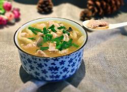 蘑菇肉片汤