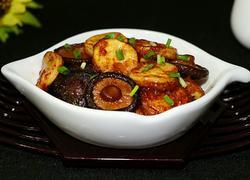 小香菇烧日本豆腐