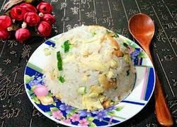 青蒜蚝油炒饭