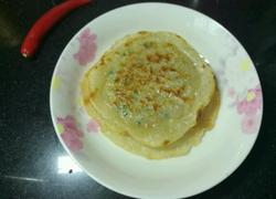 饺子皮韭菜肉饼