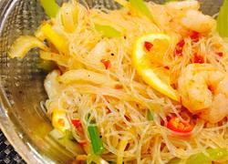 泰式鲜虾粉丝沙拉