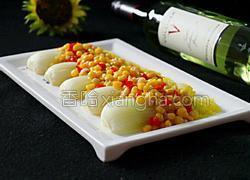 玉米烩娃娃菜