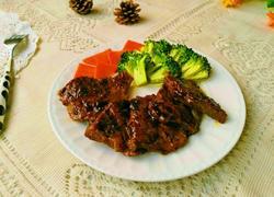 黑椒汁煎牛肉片