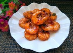 蒜蓉酱烧大虾