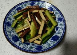 凉拌黄瓜豆腐干