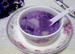 紫薯糯米山药粥
