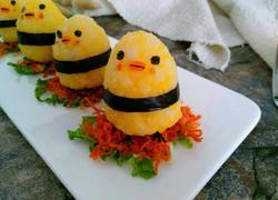 年夜饭~小鸡饭团