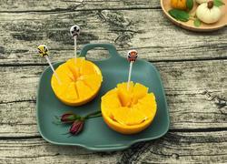 创意橙子盅