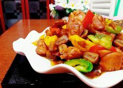 青椒栗子鸡