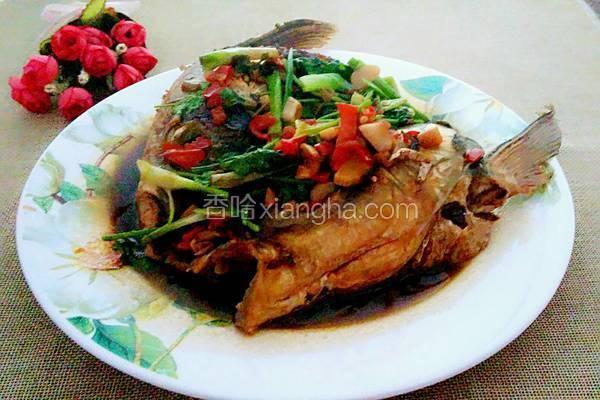 红烧剁椒鱼头