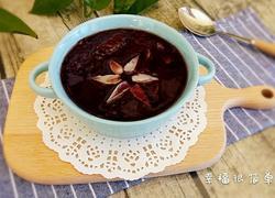百合黑米养生粥