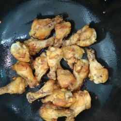 沙姜咖喱炸雞腿