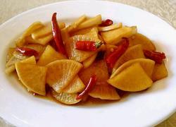 腌脆萝卜咸菜