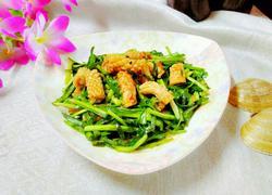 鱿鱼炒韮菜
