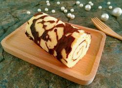 花纹蜂蜜蛋糕卷