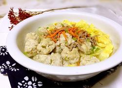 肉丸子蛋燕汤