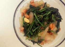 菠菜拌粉皮