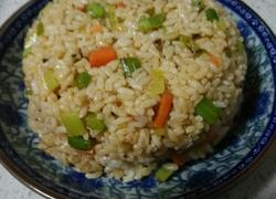 双蔬炒米(芹菜胡萝卜版)